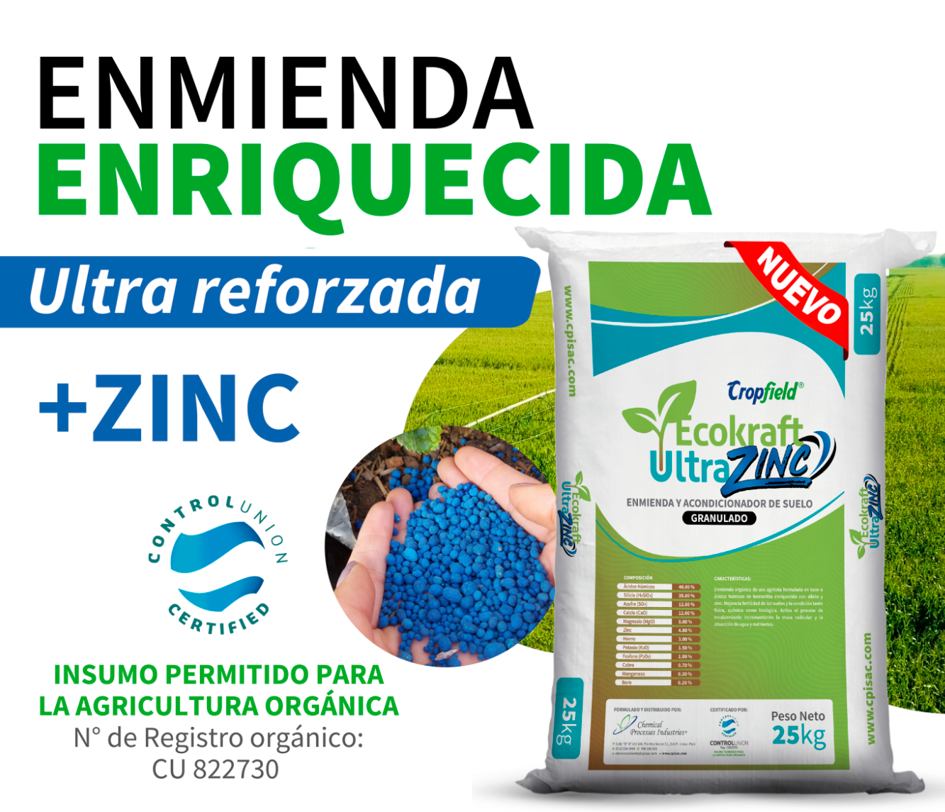 Cropfield Ecokraft UltraZinc